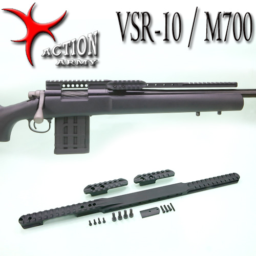 VSR10 / KJW M700 Scope Rail