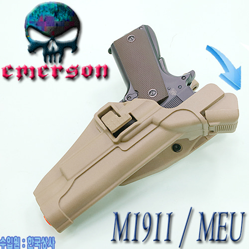 M1911 Serpa Auto Lock Duty Holster / DE