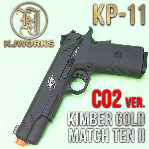 KP-11 CNC / Kimber Gold Match Ten II (BK) (CO2)