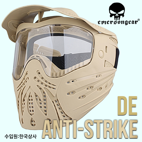Full Face protection Anti-Strike Mask / DE
