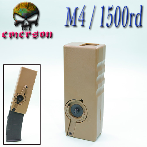 M4 Speed Loader / 1500 Rds (DE)