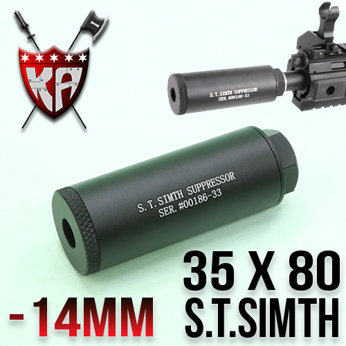 S.T Simth Silencer 35 x 80mm