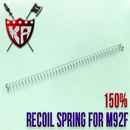 Recoil Spring for M92F / 150%