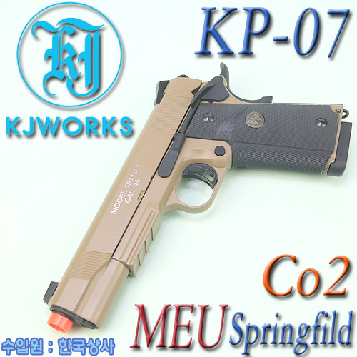 MEU Springfield / KP-07 Co2 (TAN)