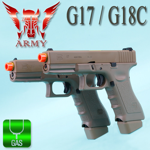 Dark Earth Glock (G17 / G18C)