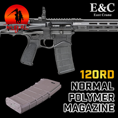 E&C M4 Normal Polymer Mag / 120rds
