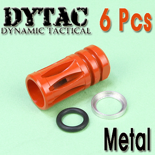Dytac Flash Hider (6Pcs) / Color Parts- B Type