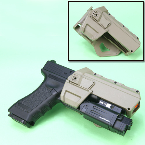 Movable Holsters GLOCK / TAN