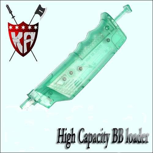 High Capacity BB loader 200Rd -Green