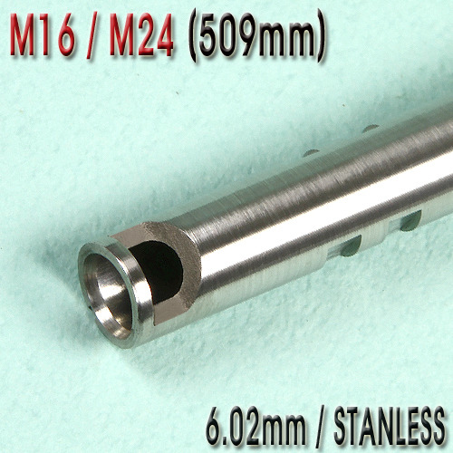 6.02mm Precision Stainless CNC inner barrel / M16