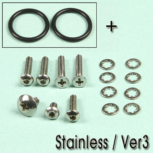 Ver3 Gearbox Stainless Bolt Set