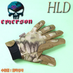 Lightweight Camouflage Gloves / HLD