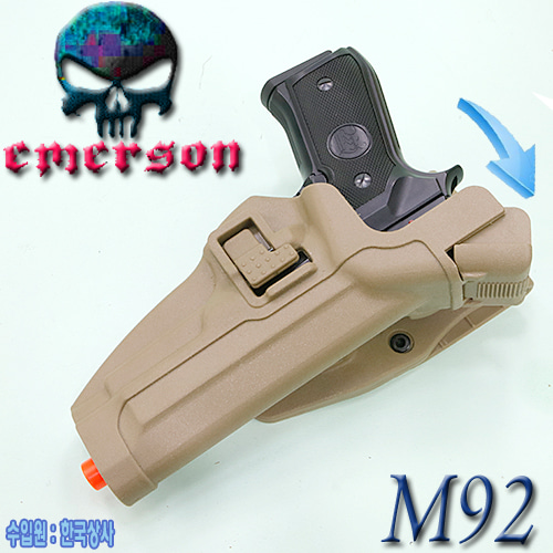 M92 Serpa Auto Lock Duty Holster / DE