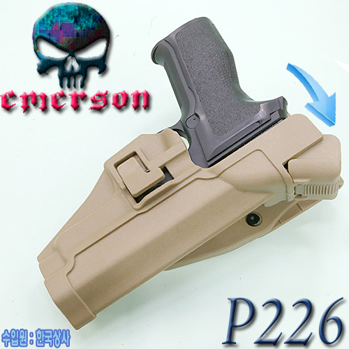 P226 Serpa Auto Lock Duty Holster / DE