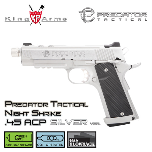 Predator Tactical Night Shrike .45 ACP - SV