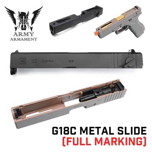 G18C Metal Slide with Full Marking