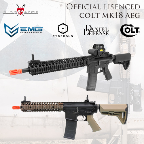 Colt MK18 AEG / Official Lisenced