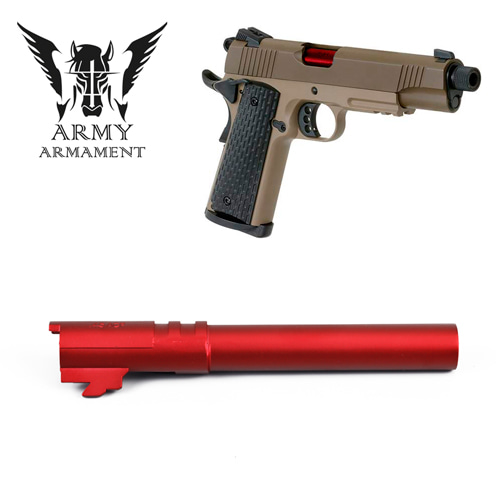 ARMY 1911 Outer Barrel / Red