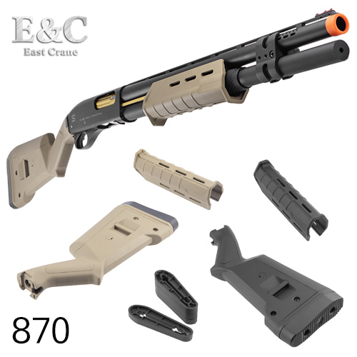 870 Polymer Forend & Stock Set