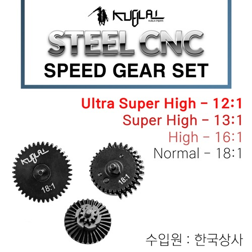Steel CNC Speed Gear Set / 4 Type