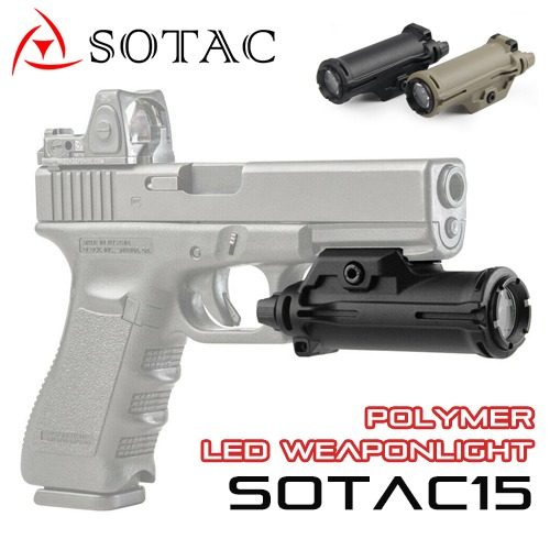 SOTAC15 Polymer LED Weaponlight