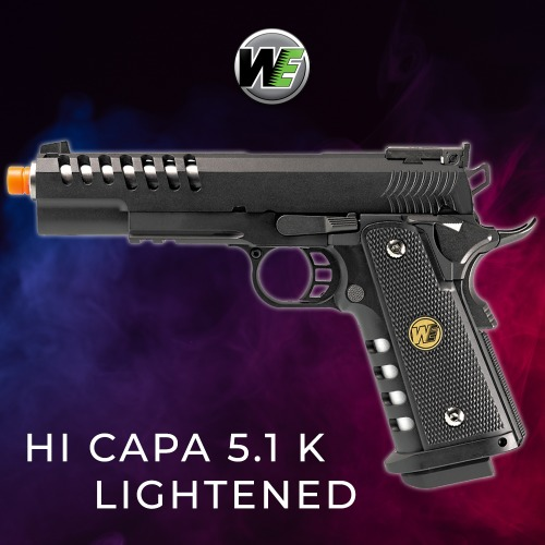 WE Hi-Capa 5.1K Lightened