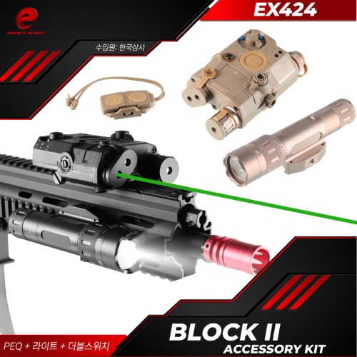 [EX424] Block II Accessory Kit