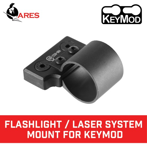 Flashlight / Laser System Mount for Keymod