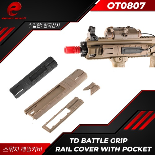 [OT0807] TD Battle Grip Rail Cover With Pocket