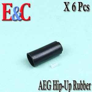 E&C Hop Up Rubber  / 6 Pcs