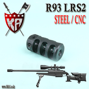 R93 LRS2 Flash Hider / Steel CNC