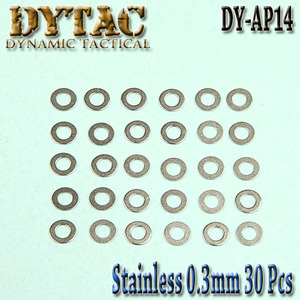 Stainless Precision Shims / 30pcs (0.3mm)