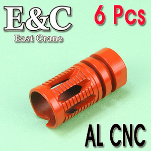 E&C KAC TYPE Flash Hider (6Pcs) / Color Parts