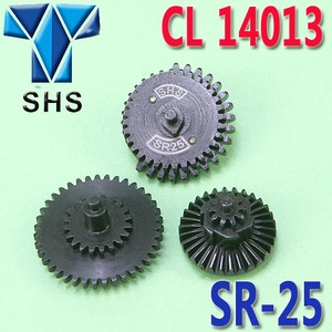 SHS SR-25 Gear Set / Steel CNC