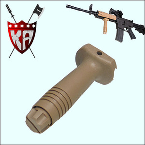 Vertical Fore Grip - TAN