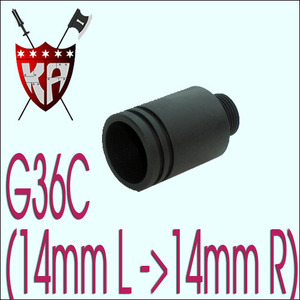 G36C Sil Adaptr (14- > 14+)