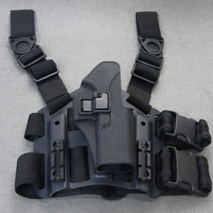 Black Hawk Leg Holster Set (Glock/Black)