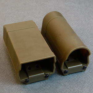 Flashlight & Double Magazin Pouch Set / TAN