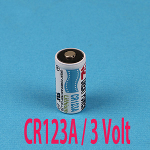 CR123A / 3V Lithium Battery