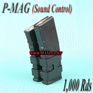 Electric P-Mag Double Magazine / 1,000 Rds