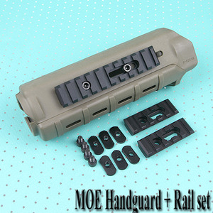 MOE Handguard With Rail Set / TAN