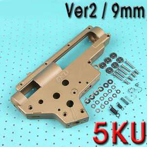 9mm Bearing Reinforced Gearbox (Gold) / Ver.2