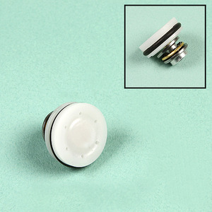 POM Piston Head / White