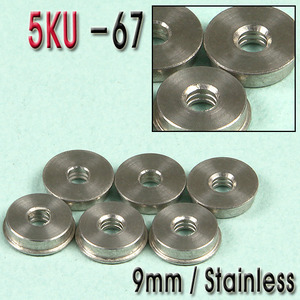 9mm Double Oil Tank Bushing / Stainless CNC