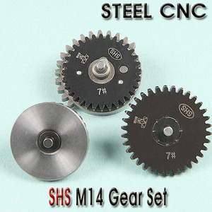 M14 Gear Set / STEEL CNC