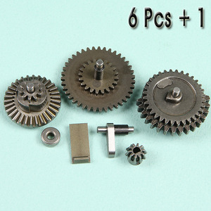 Steel Reinforced Gear Set / 6+1 Pcs