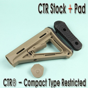 CTR Stock With Pad / TAN