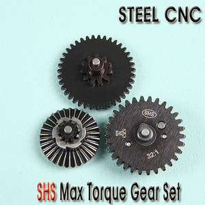 SHS Max Torque Gear set / Steel CNC