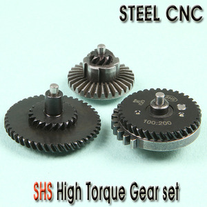 SHS High Torque Gear set / Steel CNC