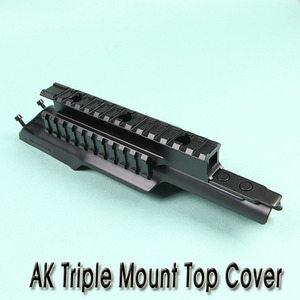 AK Triple Mount Top Cover / Steel
